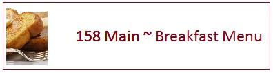 158 - breakfast menu label