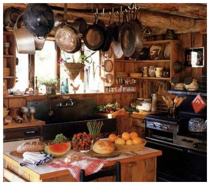 158 - 0107 - country kitchen
