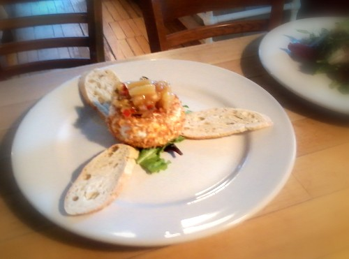 Macademia Nut Crusted Brie