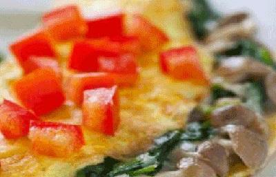 158 - vegetable omelette