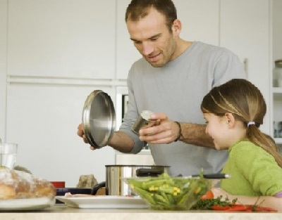 158 - cooking with dad