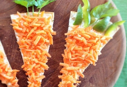 carrot pizza