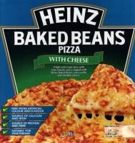 heinz baked beans pizza