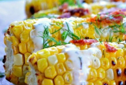 ranch dressing corn
