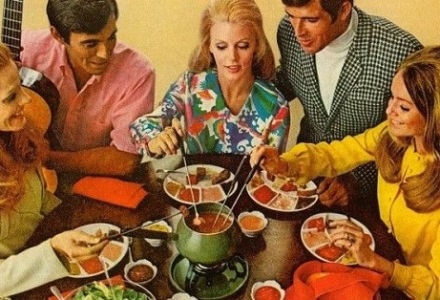 1970's fondue party kit