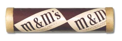 vintage m & m's