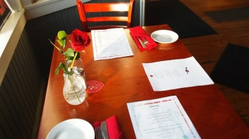 valentines day at 158 main restaurant 4