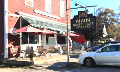 158 main restaurant & jeffersonville pizza department - Vermont