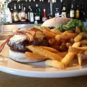 bar and burgers at 158 main restaurant