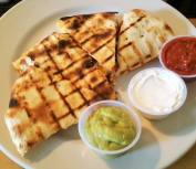 quesadilla at 158 main restaurant