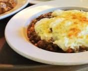shepherd's pie at 158 main restaurant