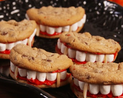 Dracula Cookies, from Delish