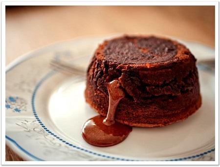 february food holidays - chocolate souffle