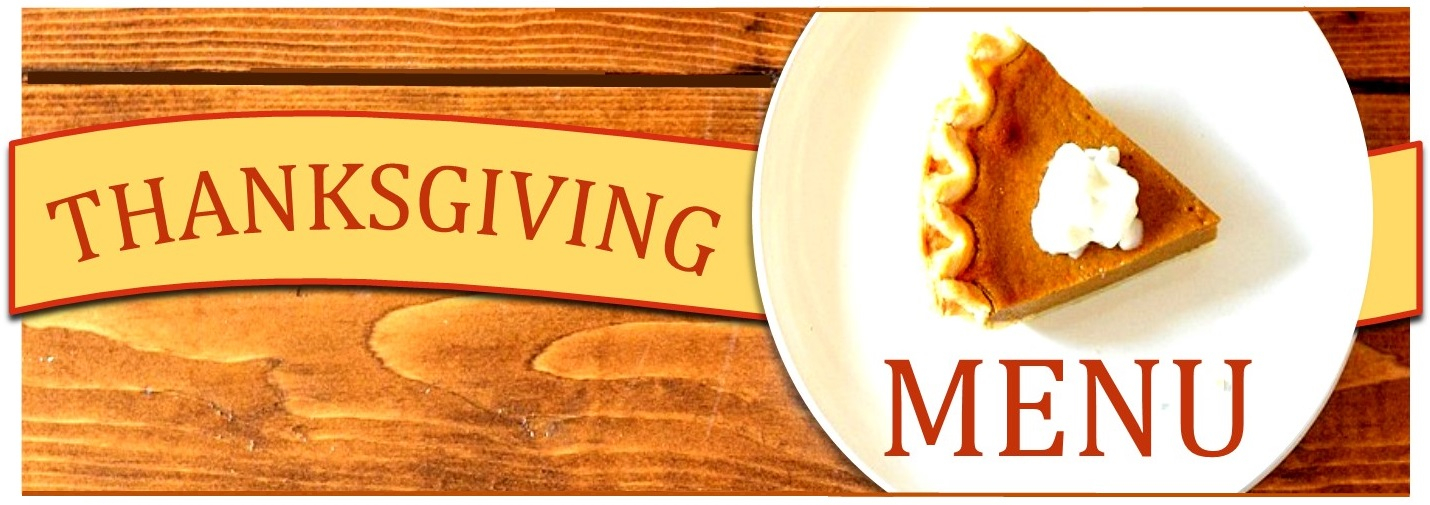 thanksgiving menu 2019 at 158 main restaurant - jeffersonville - vt
