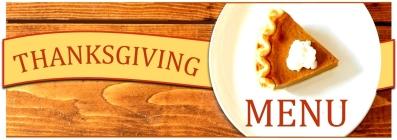 thanksgiving menu 2019 at 158 main restaurant - jeffersonville - vt